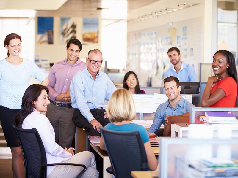 Lleg la hora de crear un mejor ambiente de trabajo for Ambiente de trabajo